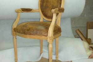 Cabriolet style Louis XVI