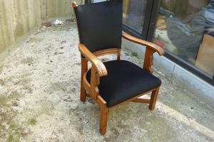 fauteuil en chêne